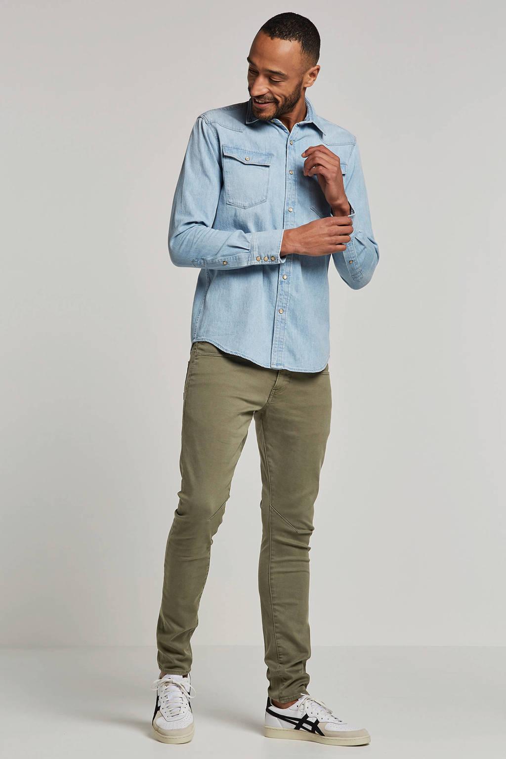 G-Star RAW slim fit overhemd, Light denim