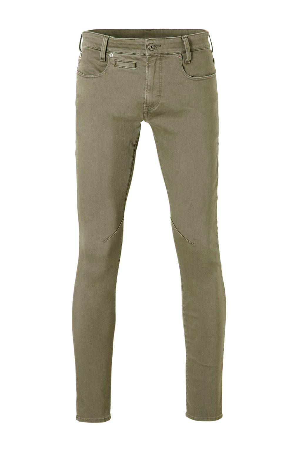 G-Star RAW D-Staq skinny jeans, Donkergroen
