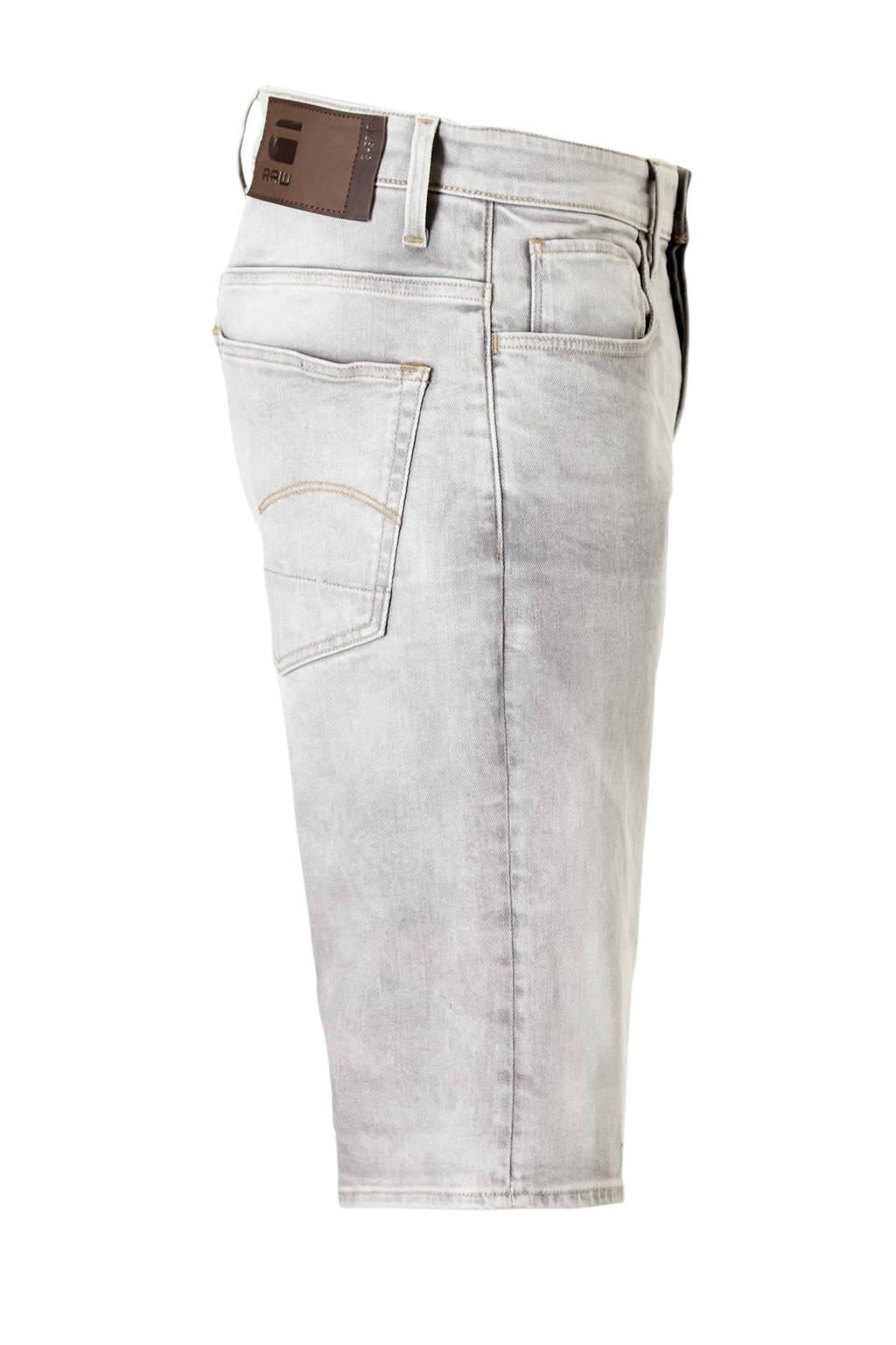 G-Star RAW 3301 regular fit jeans short, Grijs