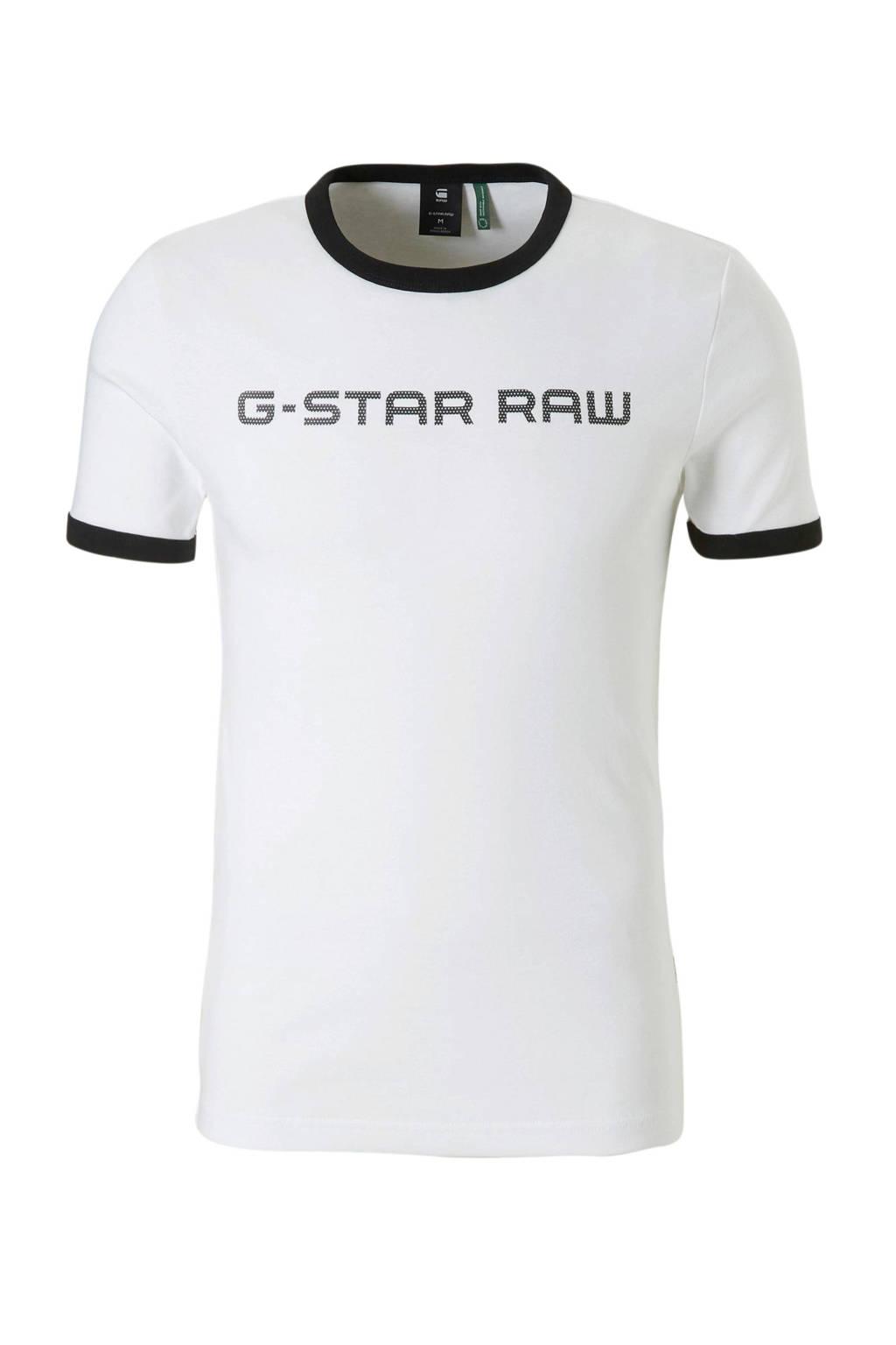 G-Star RAW T-shirt Xemoj, Wit