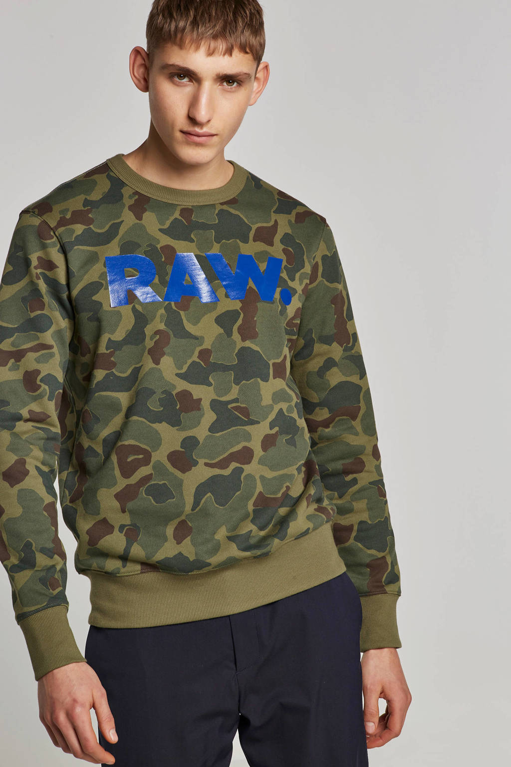 G-Star RAW sweater Zeabel, Groen