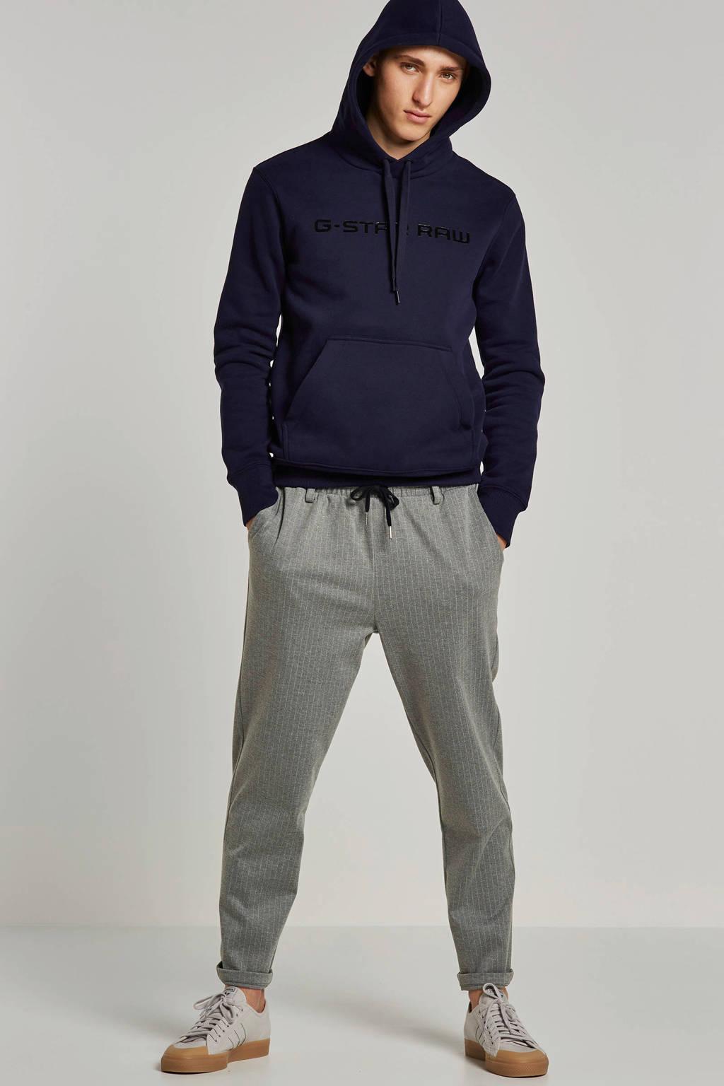 G-Star RAW hoodie Loaq, Donkerblauw