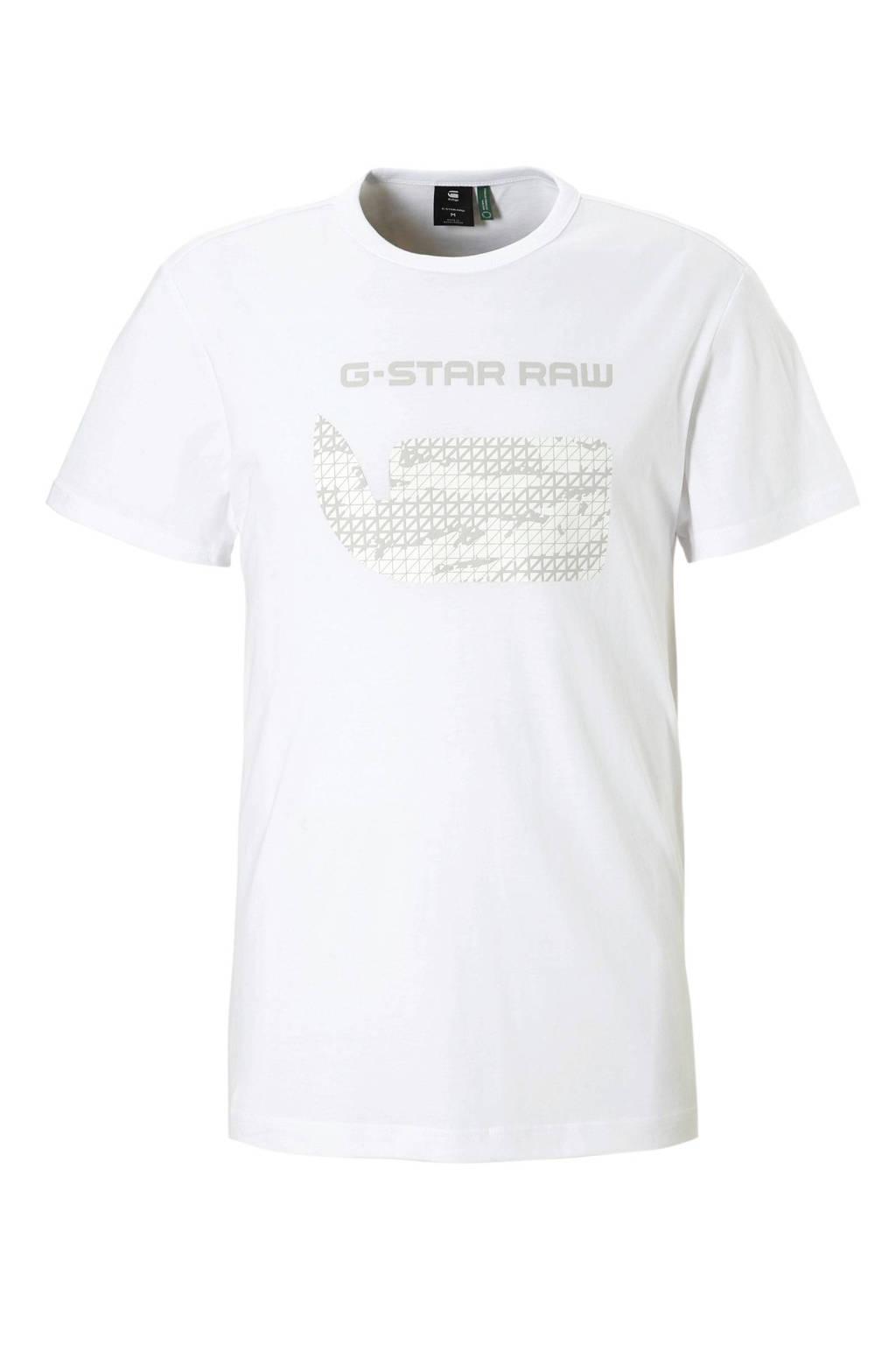G-Star RAW T-shirt, Wit