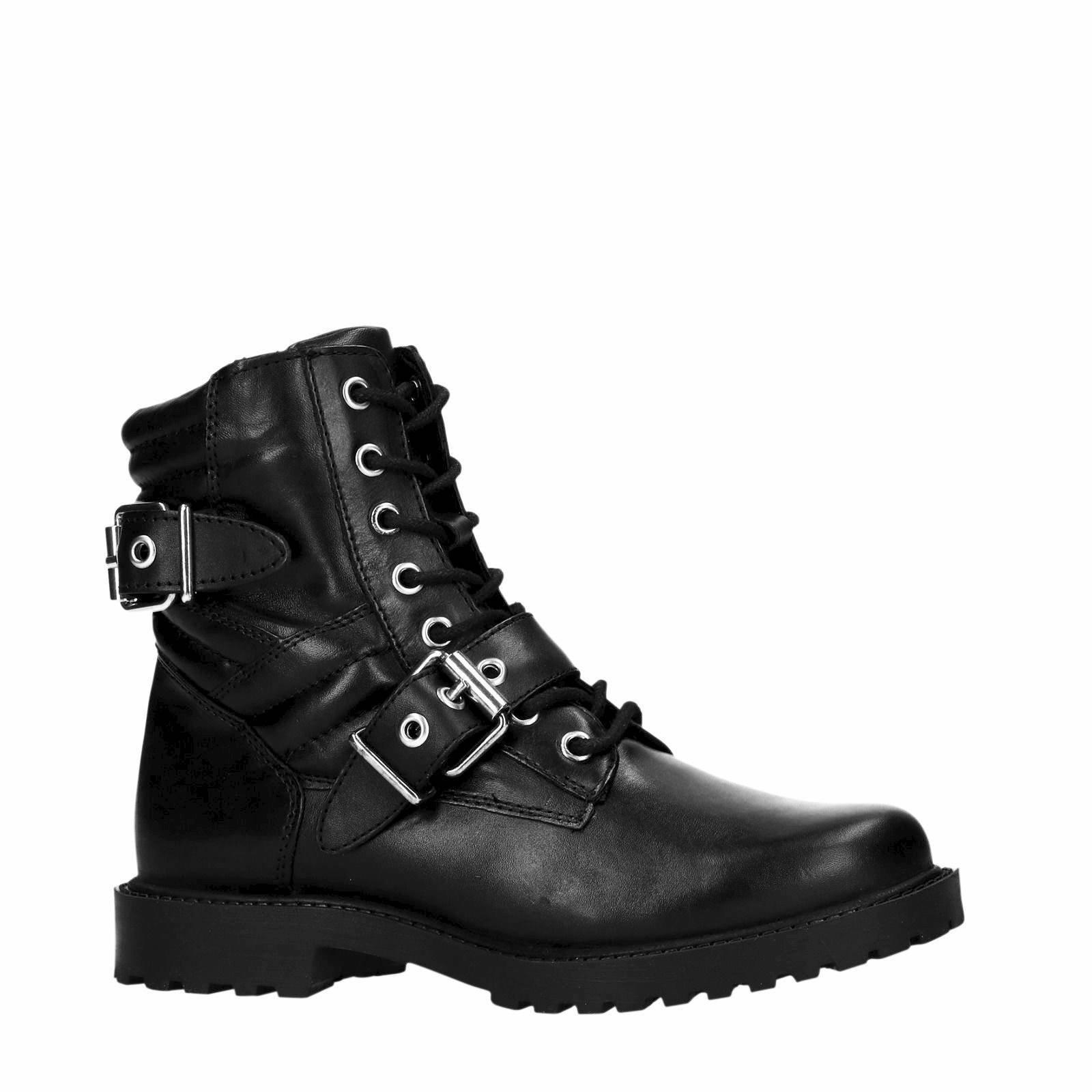 PS Poelman biker boots zwart   wehkamp