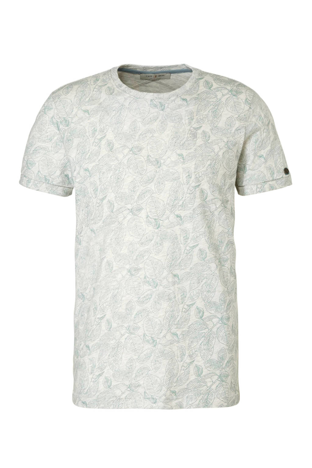 Cast Iron T-shirt met print, Grijs