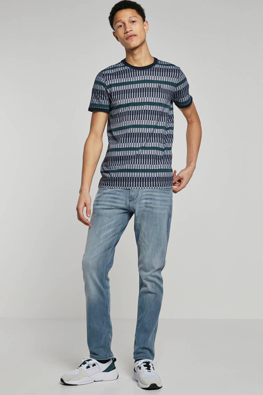 Cast Iron t-shirt, Blauw