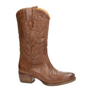leren cowboy laarzen bruin
