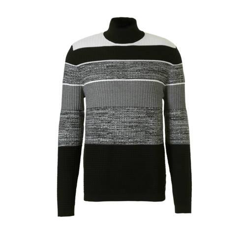 C&A Angelo Litrico trui met print zwart