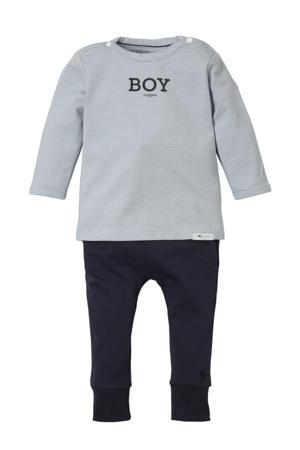 newborn baby giftset Grey blue