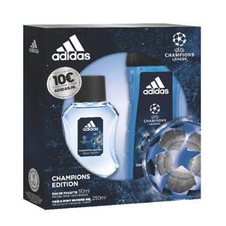 UEFA Eau de Toilette 50 ml + Douchegel 250 ml + Voucher