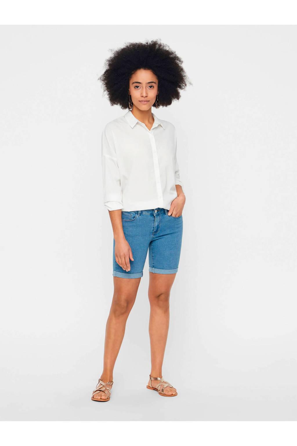 VERO MODA jeans short lichtblauw, Lichtblauw