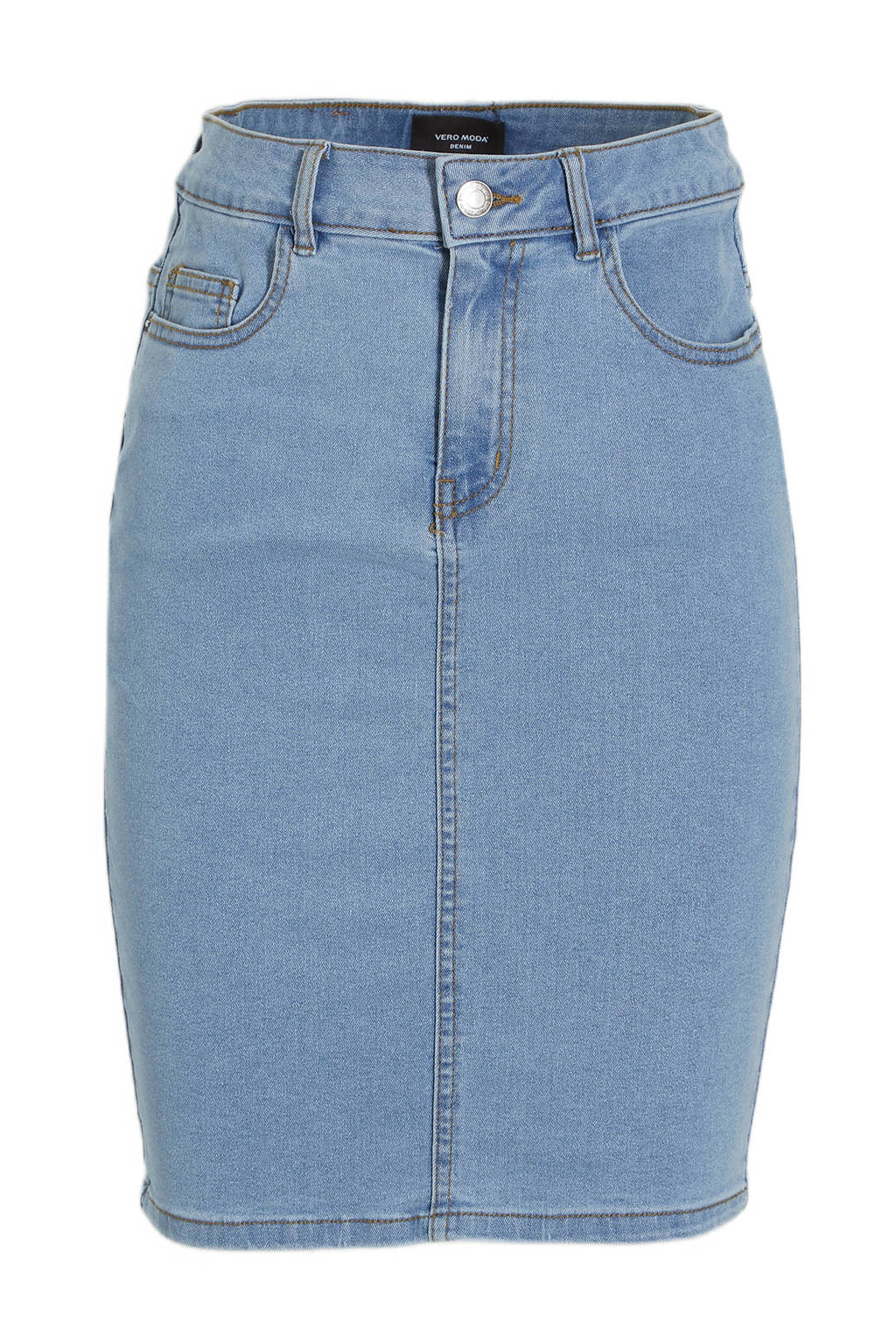 VERO MODA spijkerrok blauw, Blauw