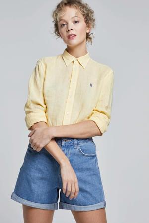 jeans short VMNINETEEN light blue denim