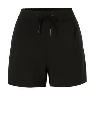 korte broek met elastische tailleband