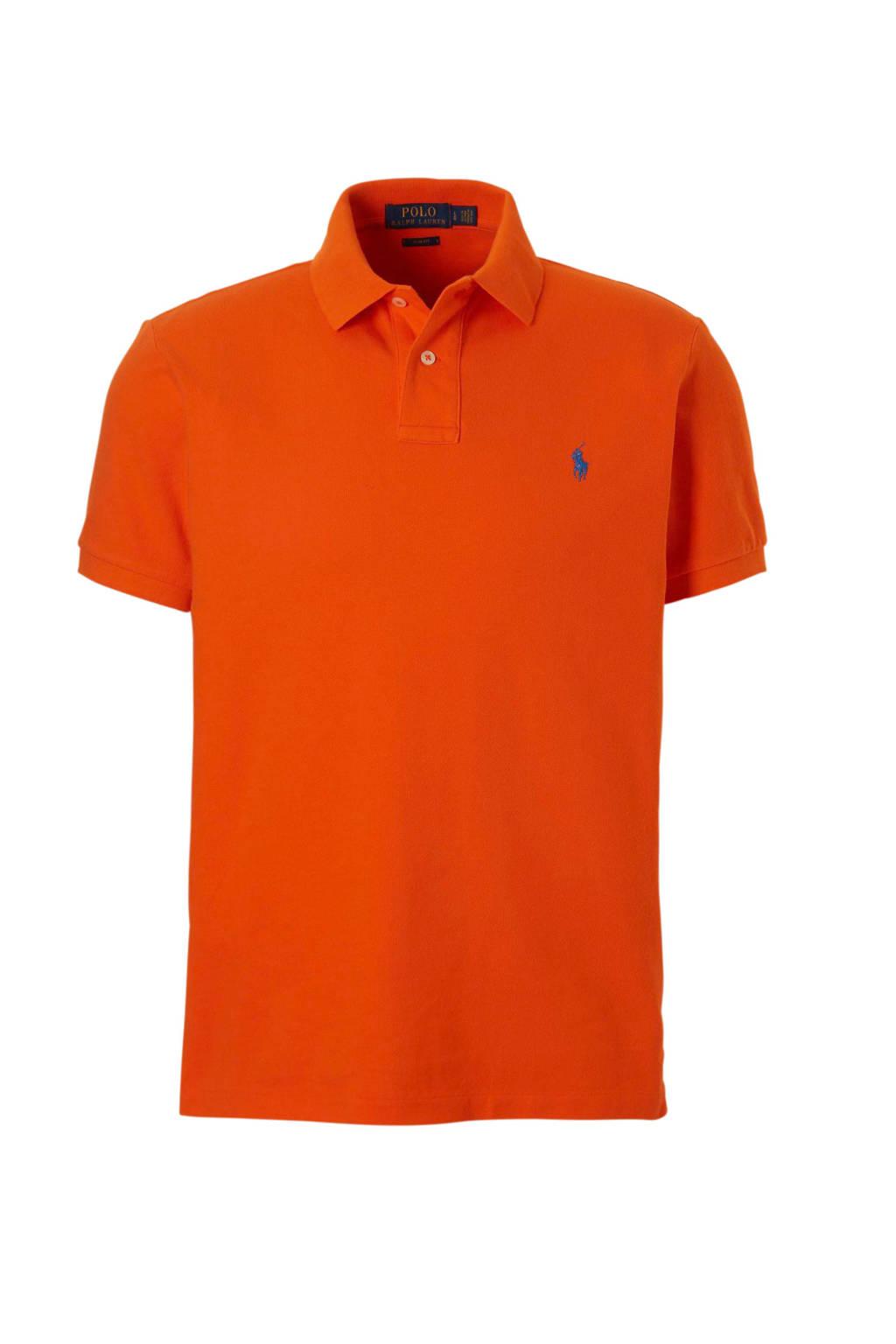 POLO Ralph Lauren slim fit polo, Oranje