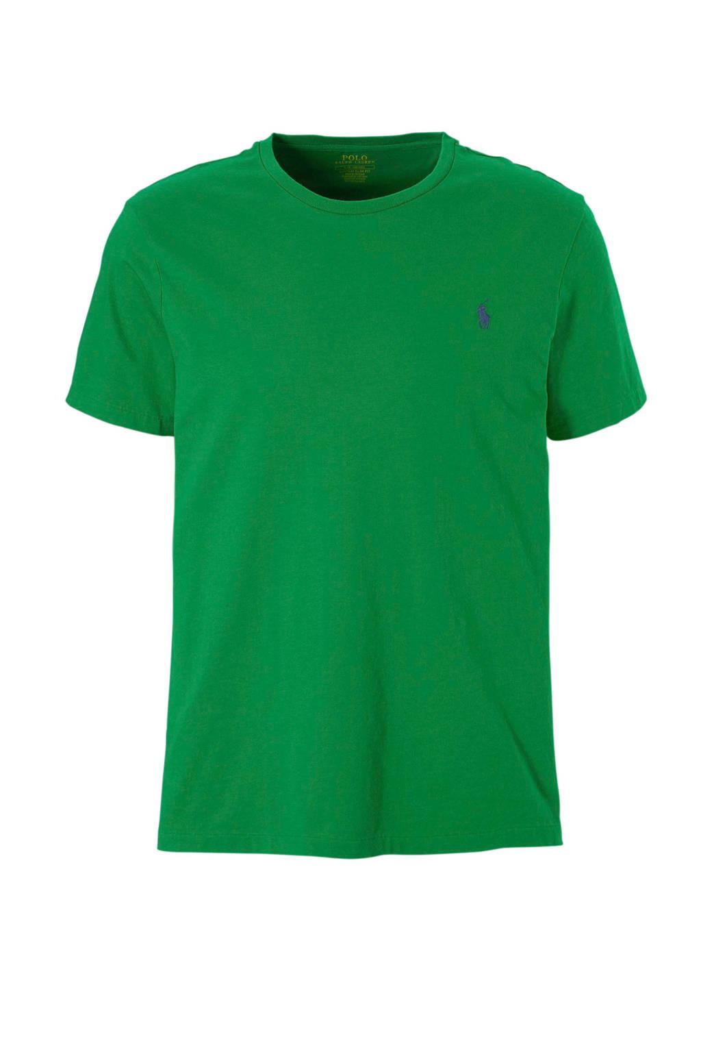 POLO Ralph Lauren slim fit T-shirt, Groen