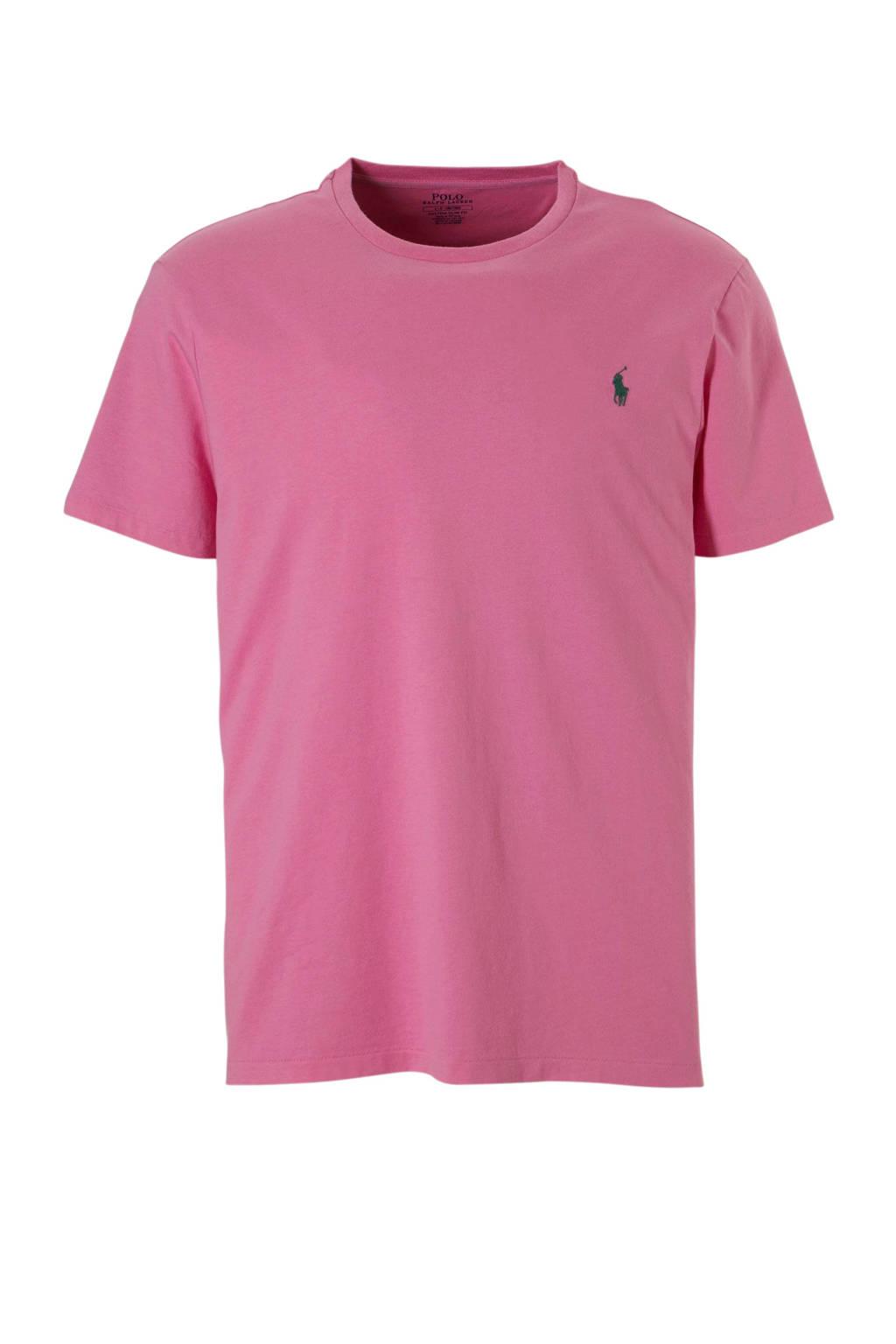 POLO Ralph Lauren slim fit T-shirt, Roze