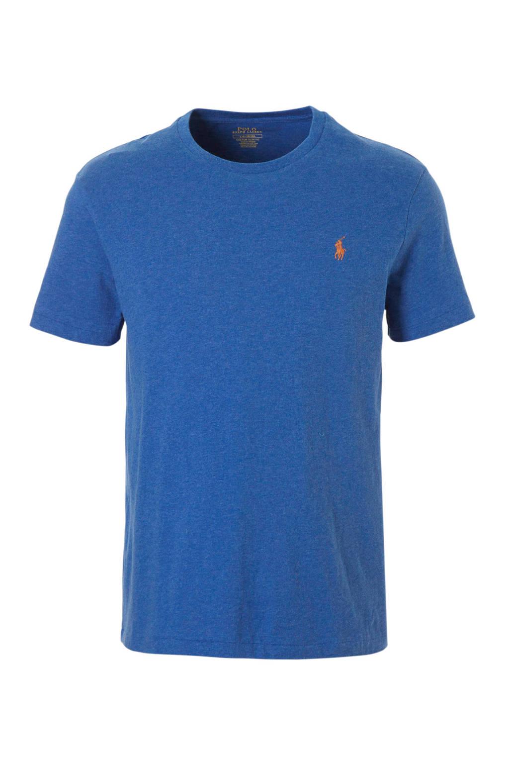 POLO Ralph Lauren slim fit T-shirt, Blauw