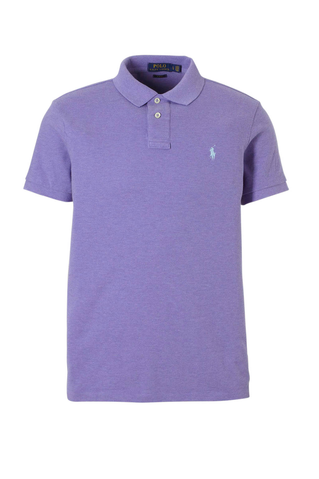 POLO Ralph Lauren slim fit polo, Paars