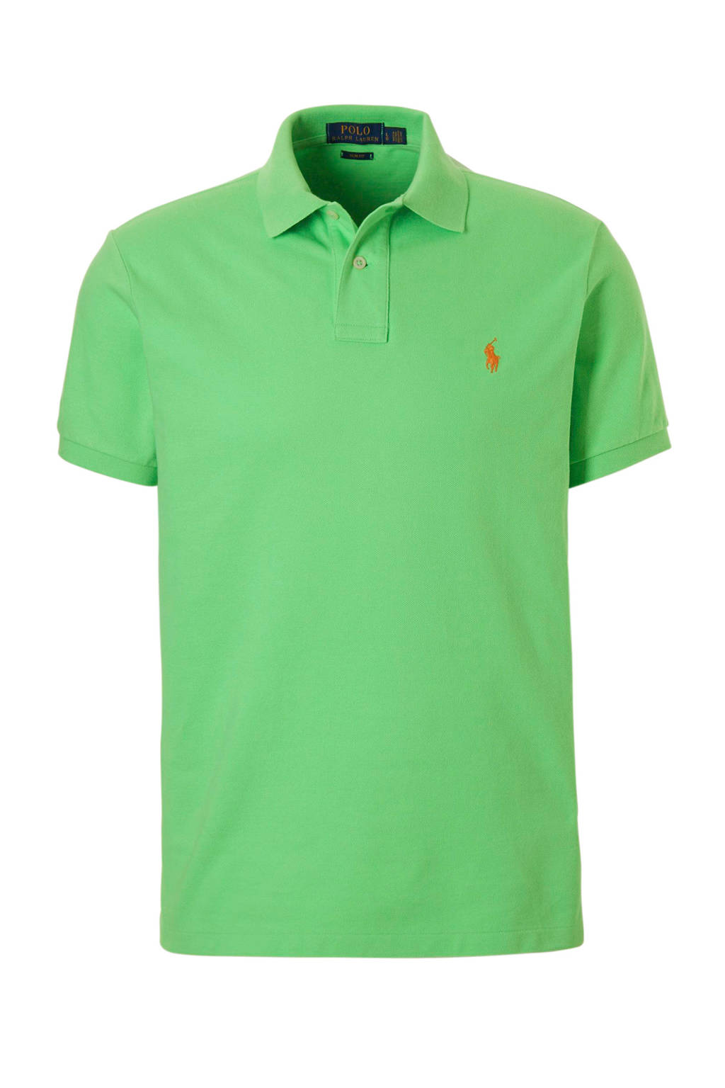 POLO Ralph Lauren slim fit polo, Lichtgroen