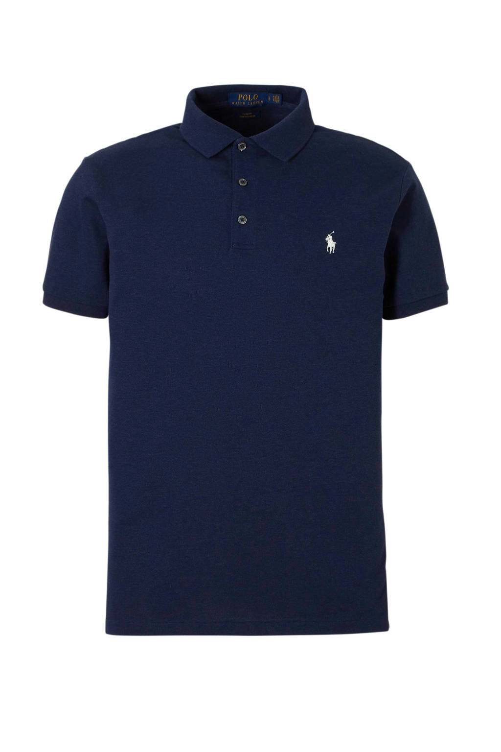 POLO Ralph Lauren slim fit polo, Donkerblauw