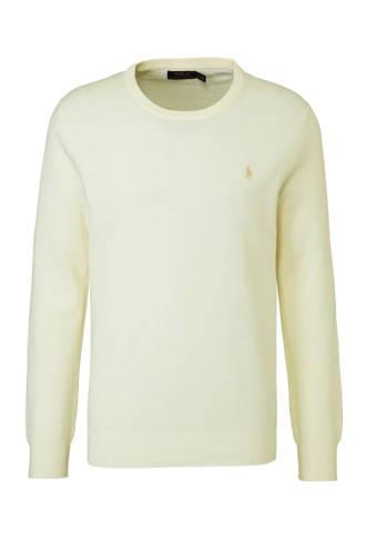 pullover in linnenmix