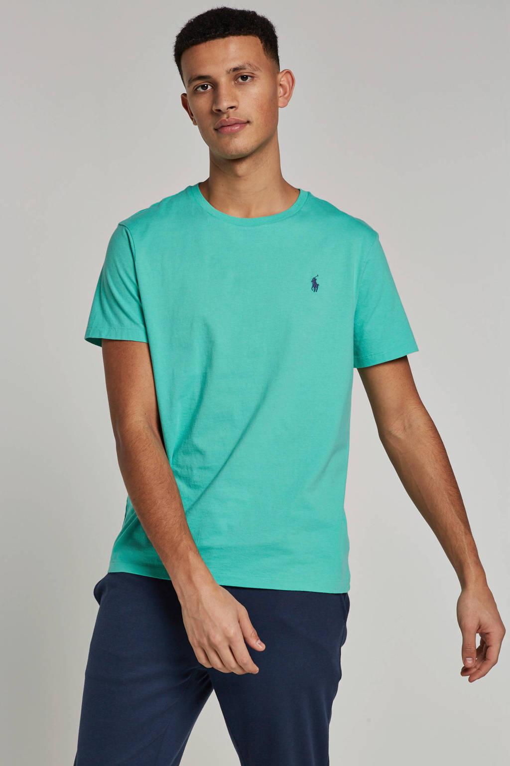 POLO Ralph Lauren slim fit T-shirt, Lichtgroen