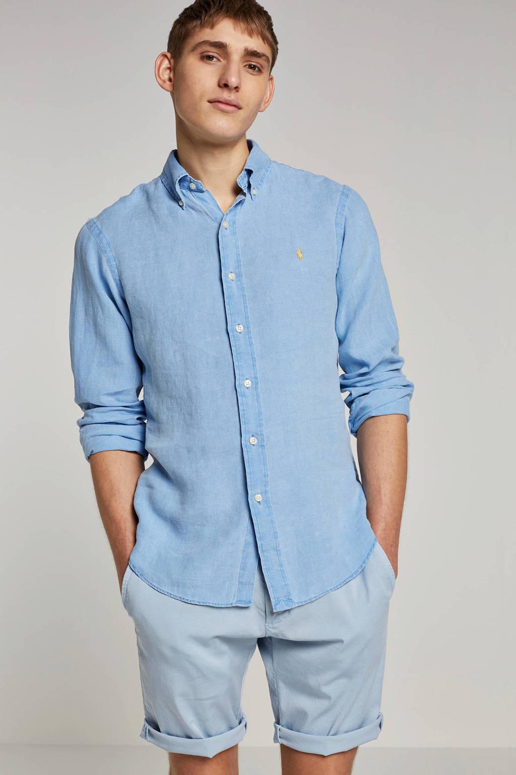 POLO Ralph Lauren slim fit overhemd, Light denim