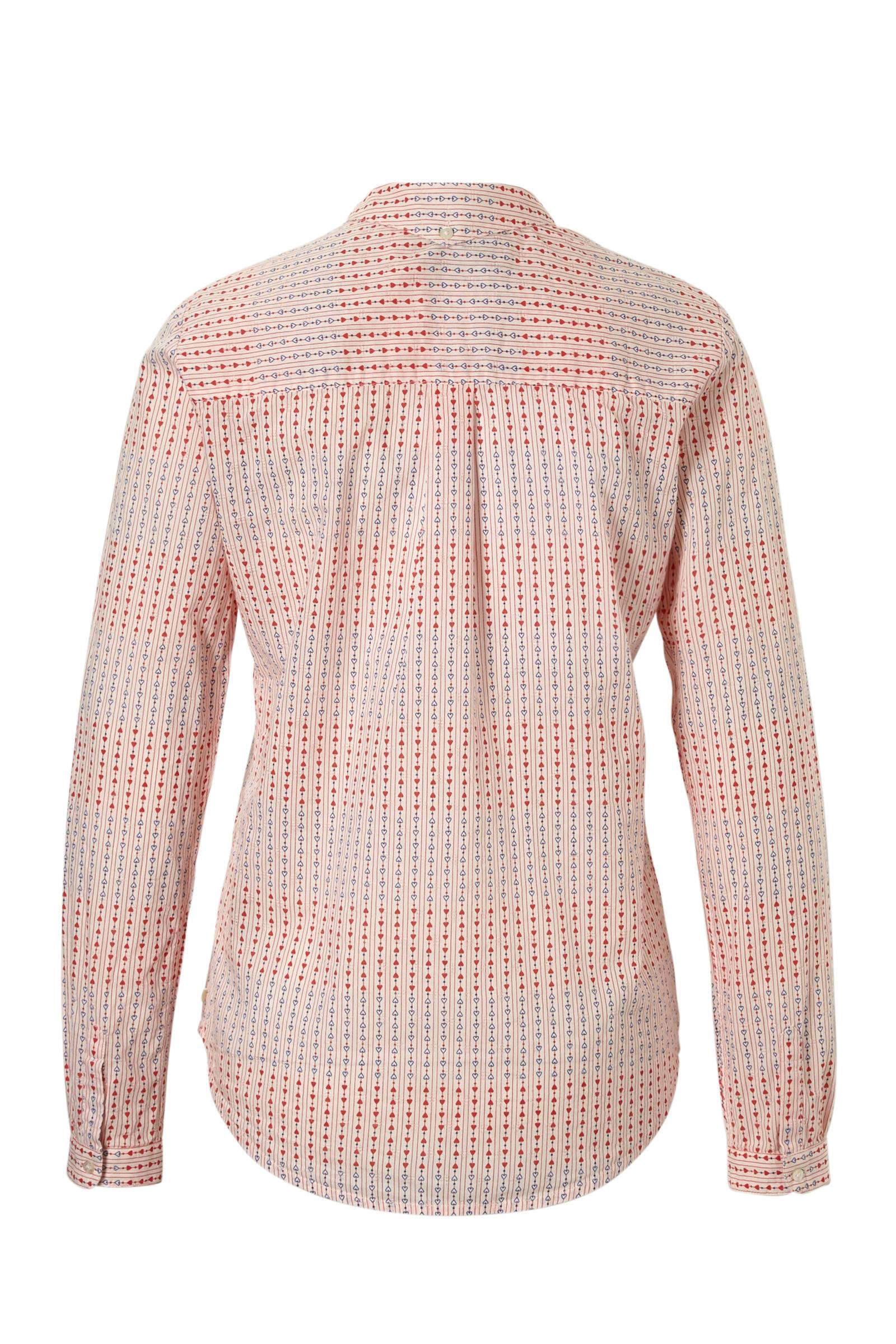 Scotch all over blouse Soda met print qIwtrqxYB