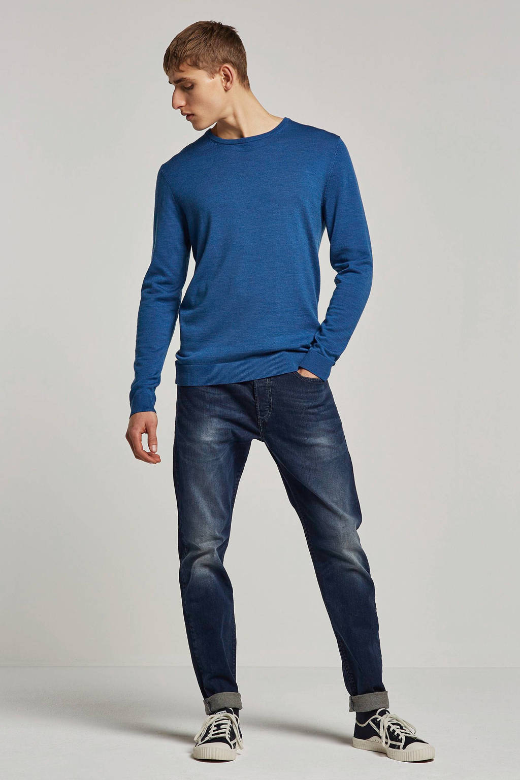 SELECTED HOMME trui, Blauw