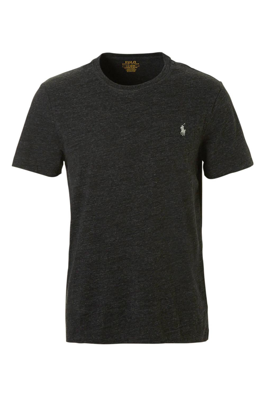 POLO Ralph Lauren slim fit T-shirt, Grijs
