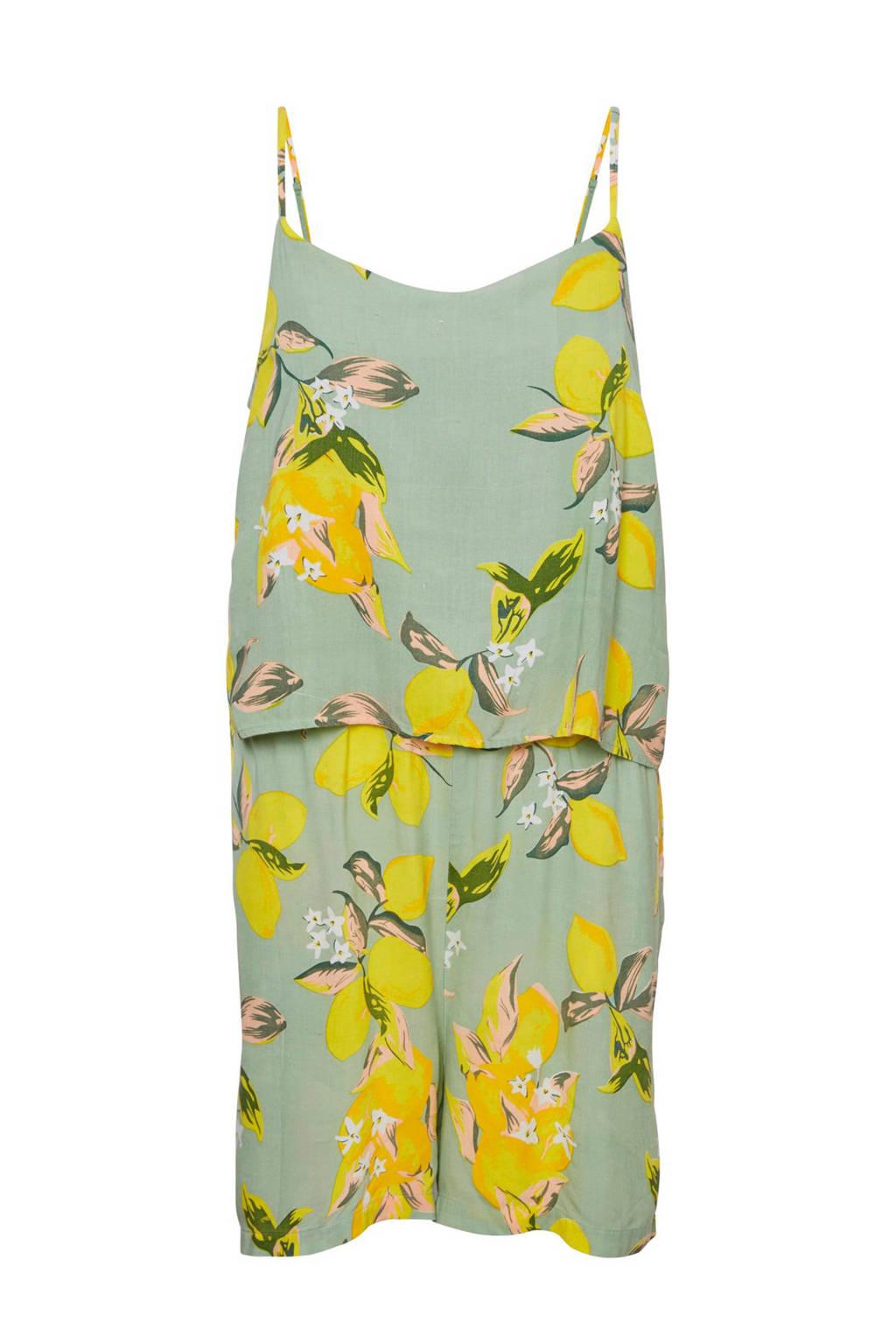 MAMA-LICIOUS zwangerschaps + voedingsplaysuit Lemon June mint, Mintgroen