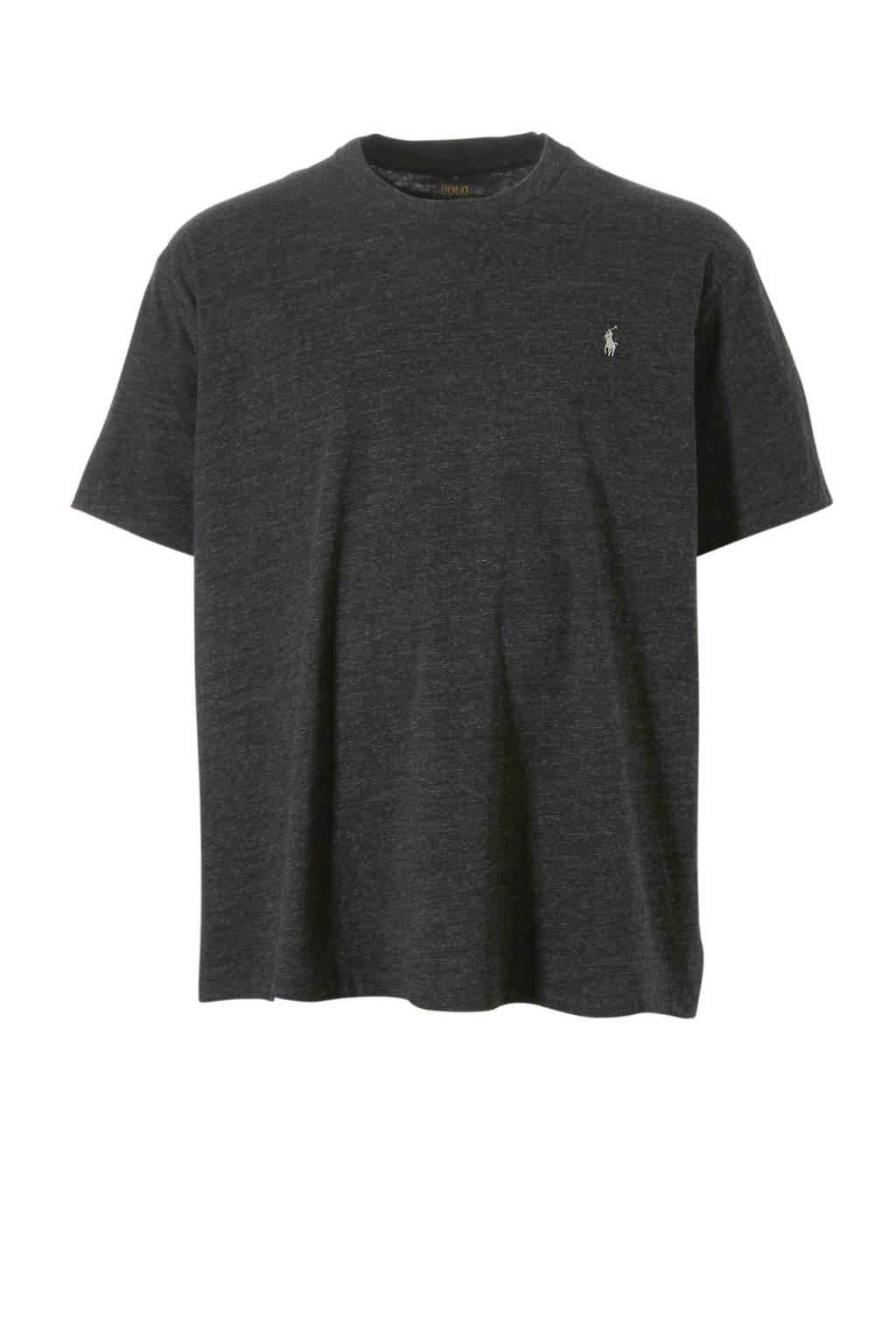 POLO Ralph Lauren Big & Tall +size T-shirt, Grijs melange