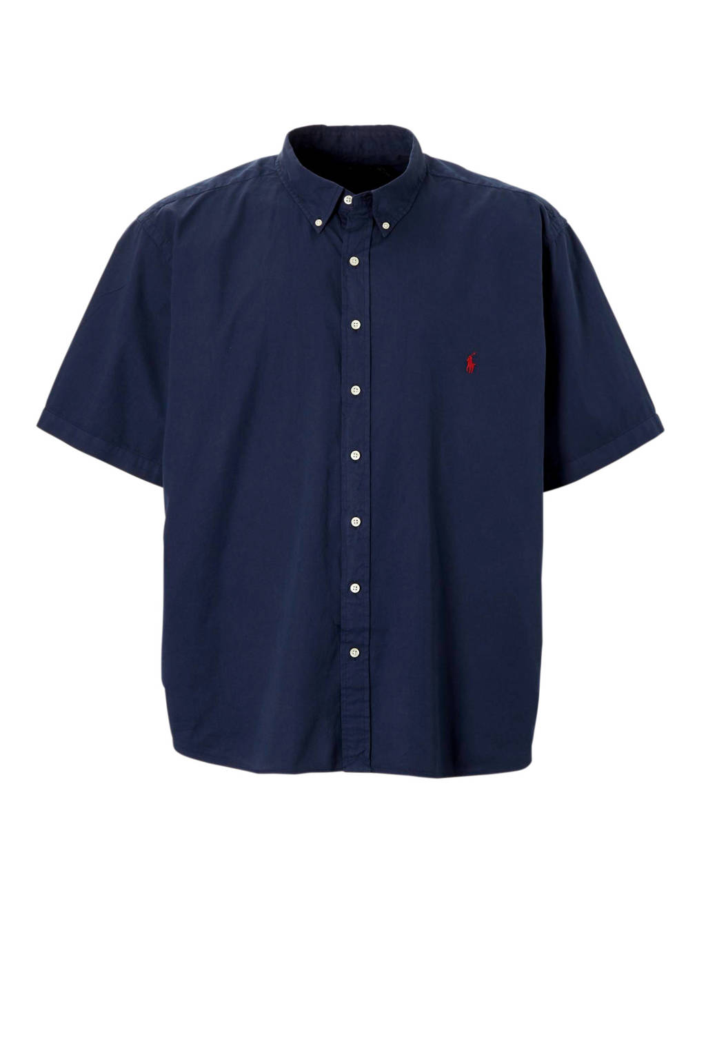 POLO Ralph Lauren Big & Tall +size plussize overhemd, Donkerblauw