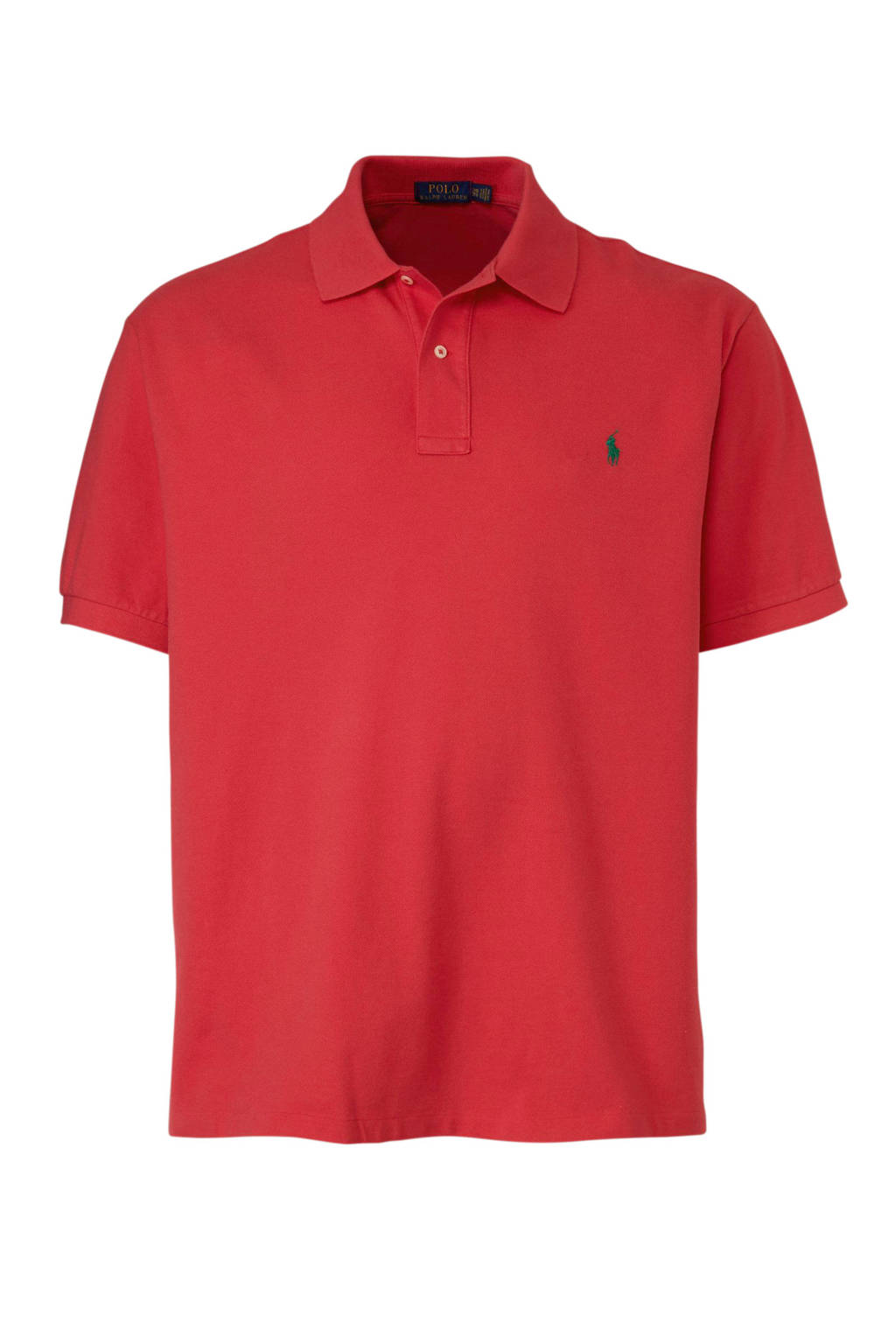 POLO Ralph Lauren Big & Tall +size polo, Rood