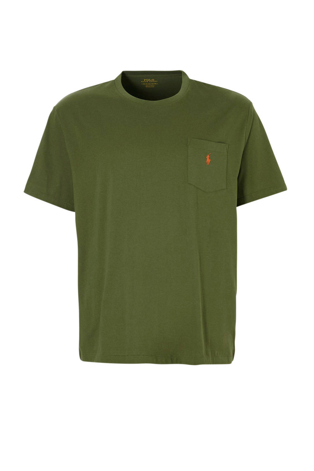 POLO Ralph Lauren Big & Tall +size t-shirt, Donkergroen