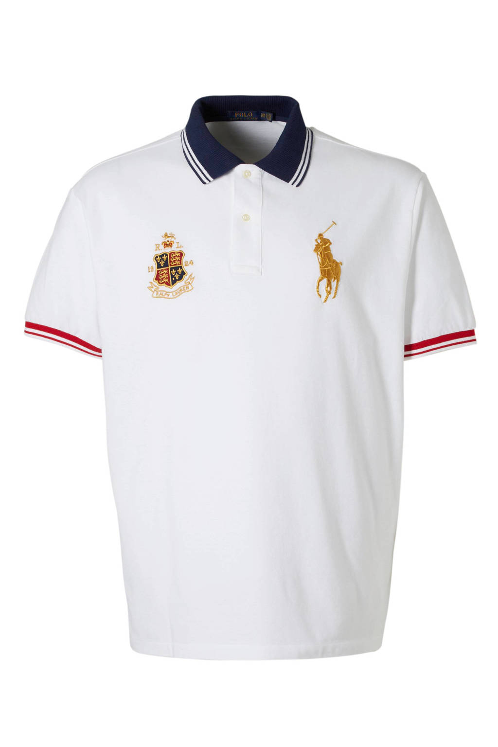 POLO Ralph Lauren Big & Tall +size polo, Wit