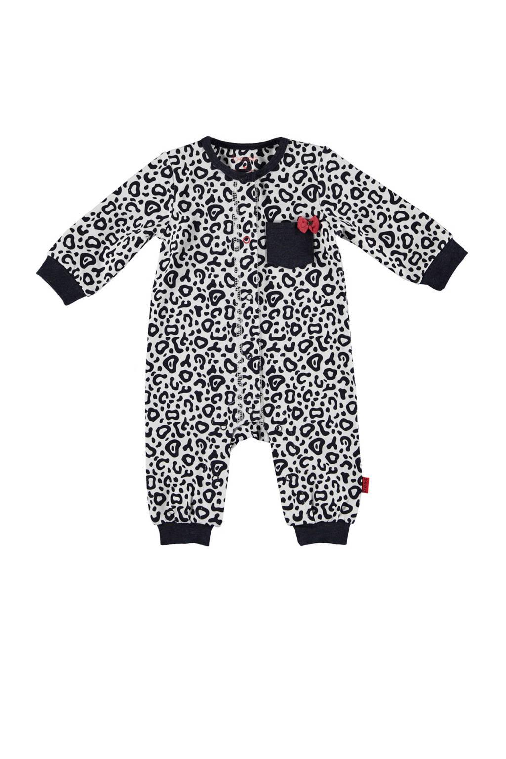 B.E.S.S newborn baby boxpak, Wit/donkerblauw