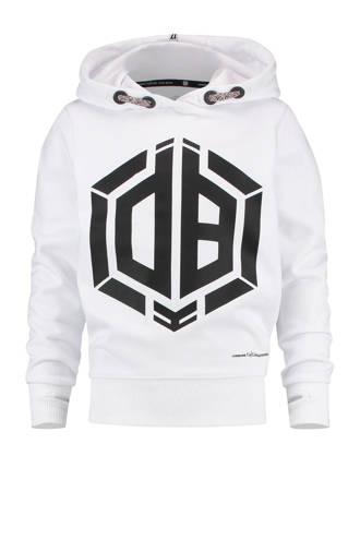 hoodie met print Daley Blind wit