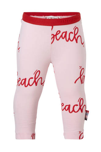 legging met tekst Susie roze