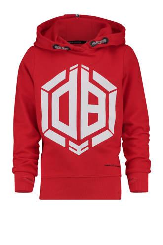 hoodie met print Daley Blind rood