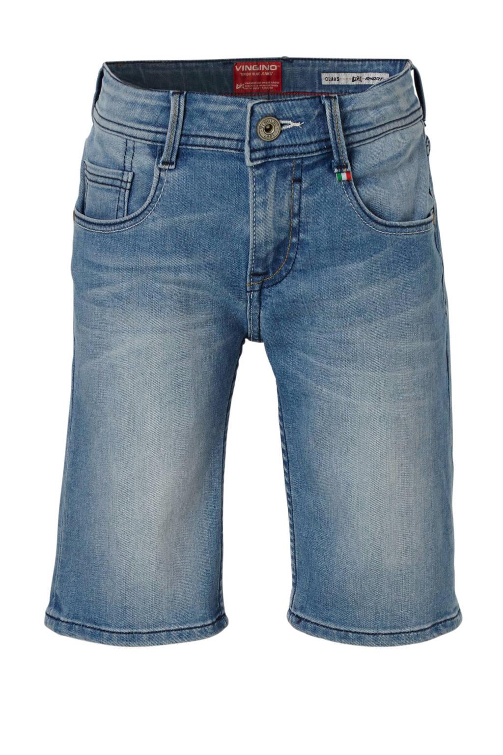 Vingino regular fit jeans bermuda Claas, Light Indigo