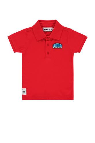 polo Keke met logo rood