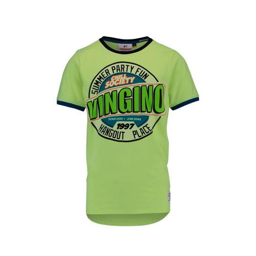 Vingino T-shirt Hespara neon geel kopen