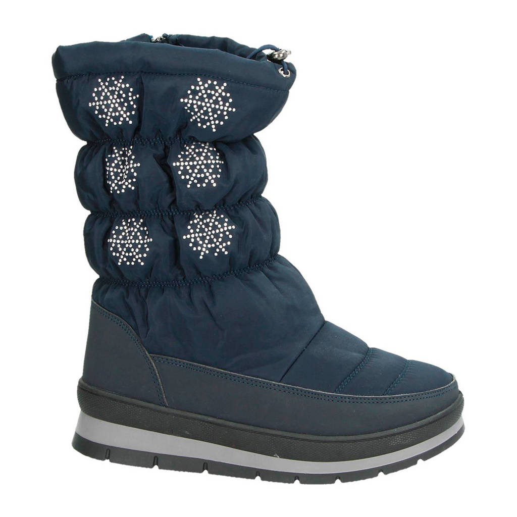 Snow Fun snowboots wit, Blauw