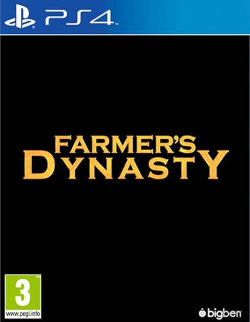 Farmer's dynasty (PlayStation 4)