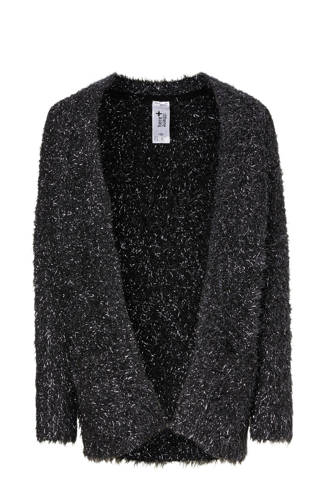 Here & There glitter vest zwart