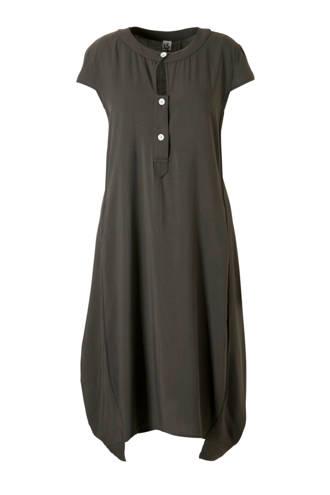 jurk met asymetrische onderkant