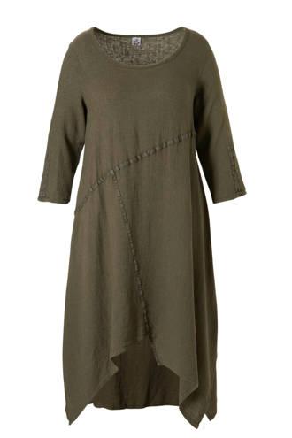 asymetrische jurk