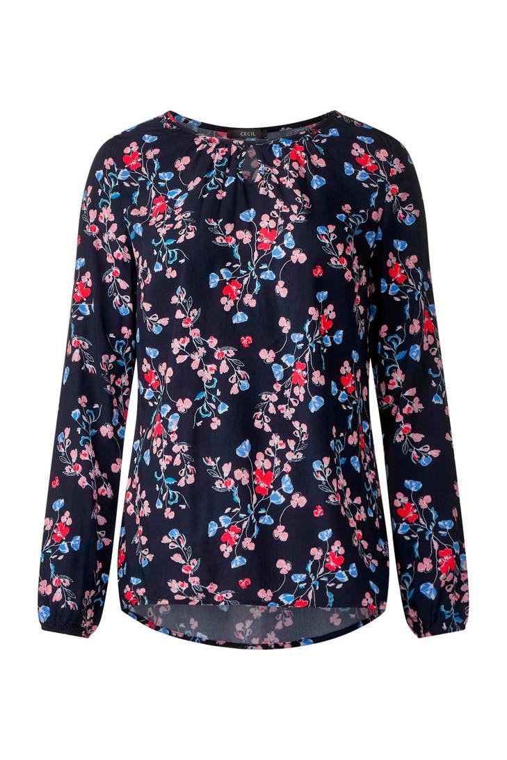blouse bloemenprint blouse CECIL CECIL met bloemenprint met CECIL met blouse waCCqBHx
